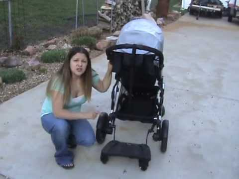 Britax Stroller Board Review and Giveaway (CLOSED) - YouTube