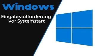 Windows 10 - Eingabeaufforderung vor Boot