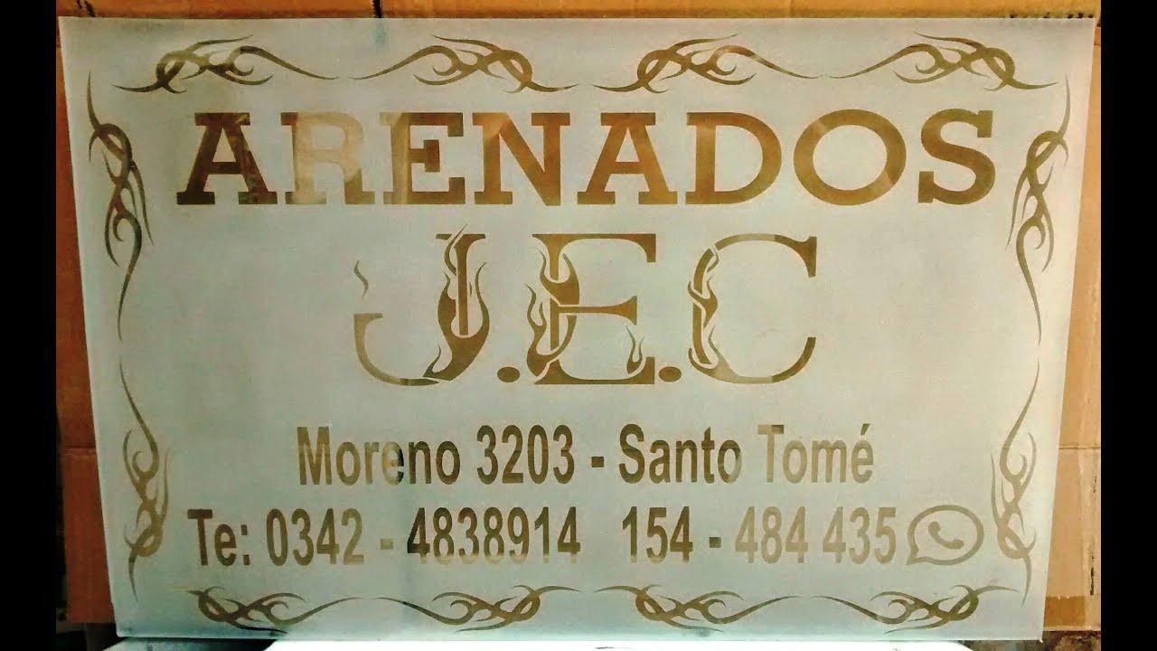 ARENADOS SANTO TOME - SANTA FE J. E. C TRABAJOS REALIZADOS - YouTube