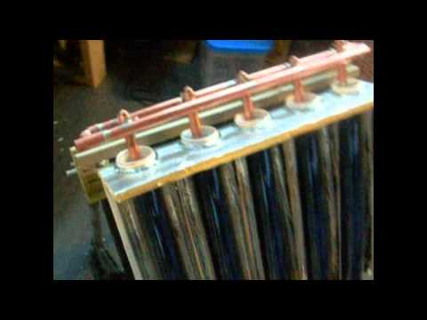 SOLAR TUBES HEAT PIPE EXCHANGER  RICH ALLEN