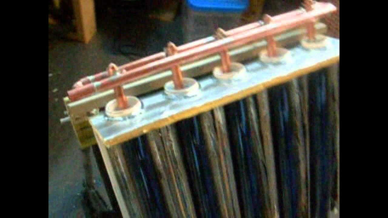 Solar Tubes Heat Pipe Exchanger Rich Allen