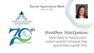 PTO Teacher Awards (Teacher Appreciation Week)