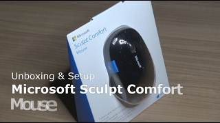 Microsoft Sculpt Comfort Mouse | Bluetooth Maus | Unboxing Setup | Sondertasten für Windows 10 + 8