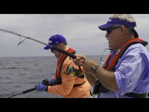 Fishing with Helm Master - Fish Point Stern