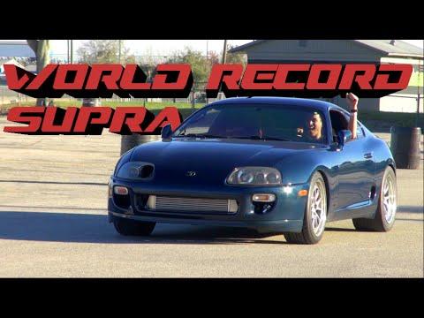 WORLDS QUICKEST & FASTEST STOCK AUTO SUPRA - The Baltic Supra - 8.70 @ 159mph