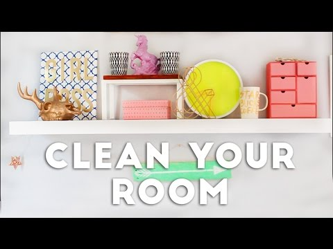 how to clean your room in 10 steps 2016 youtube