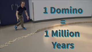 2000 Dominoes as 2000 Million Years