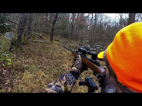 BUCK RUNS RIGHT UP TO ME! How To Hunt For Whitetail Bucks In Gun Season  Pressured Deer Hunting 2019