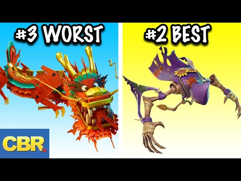 The 10 Best And 10 Worst Fortnite Gliders