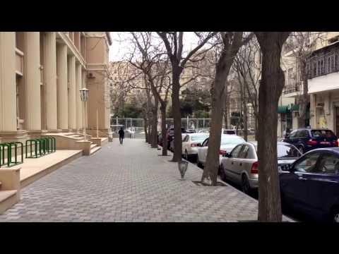 Баку. Здание БОИРТО. Архитектор Гославский