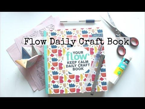 beste verkoop geweldige selectie mode stijlen Flow Daily Craft Book   First Look and Partial Flip Through ...
