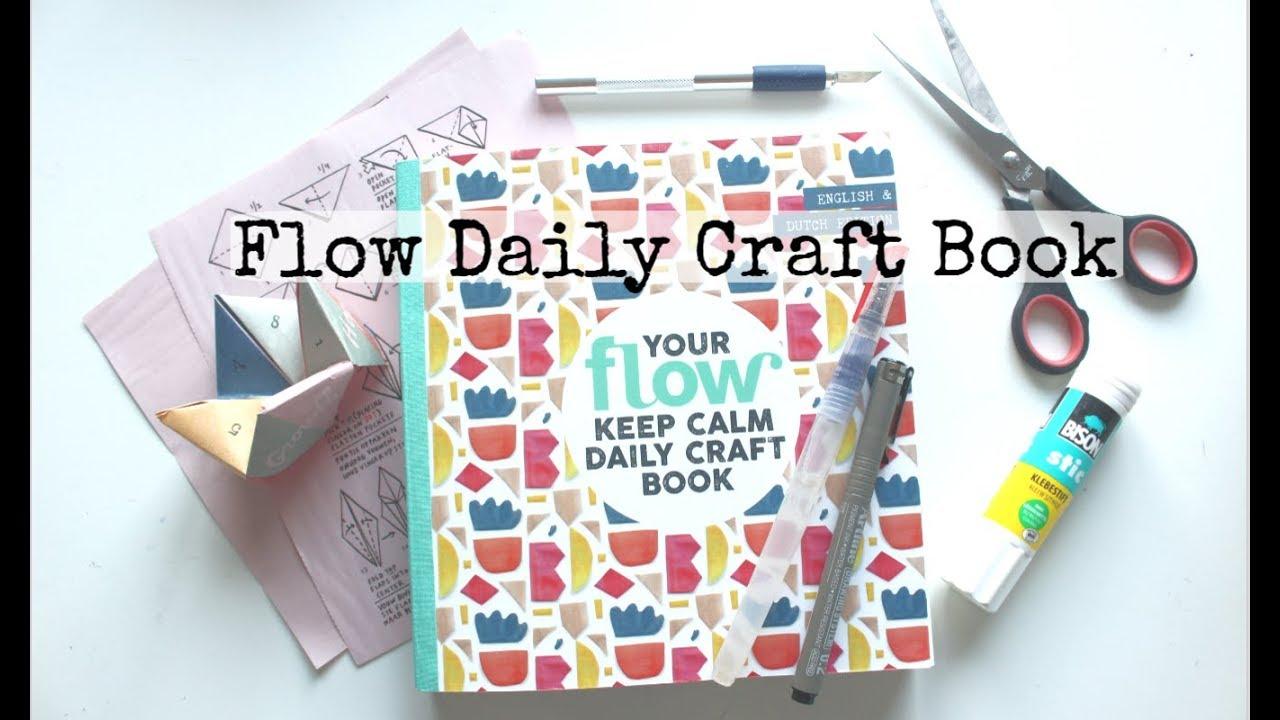 goedkoop geweldige aanbiedingen klassieke pasvorm Flow Daily Craft Book   First Look and Partial Flip Through