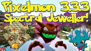 Pixelmon 3.3.3 Halloween Update! The Spectral Jeweller and Structures!