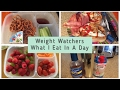Weight Watchers -  What I Eat In A Day - What I Eat To Lose Weight