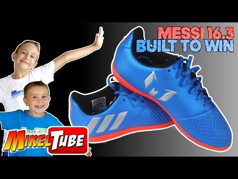 Mis nuevas botas de fútbol Adidas Messi 16.3