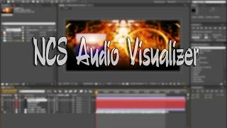 [Adobe After Effects Free Template] - NCS Audio Visualizer Style Resimi