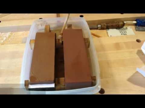 Peacock Sharpening Stone Fixer
