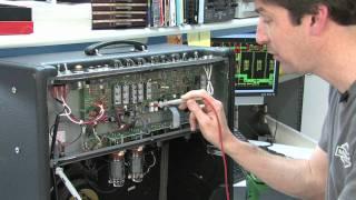 How To Bias a Deville Amplifier