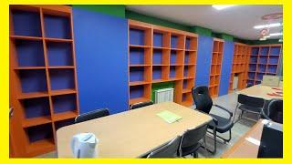 우일, 문고 , 도서관, 책장