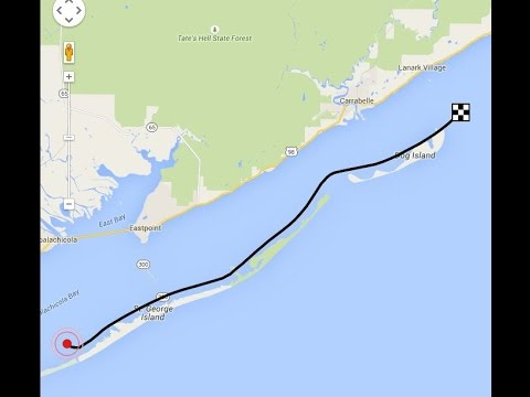 Dog Island Florida Map.St George And Dog Islands Florida Youtube