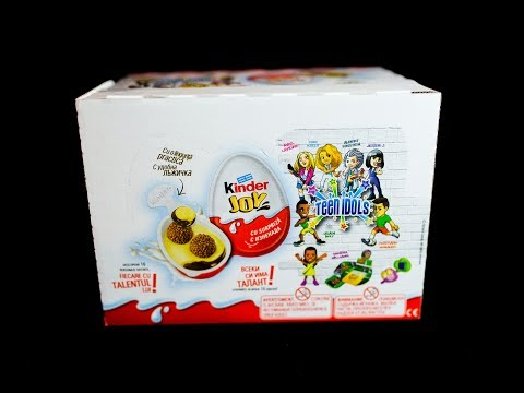 24 Kinder Joy NEW collection 2017 teen idols NEW Toys surpise egg