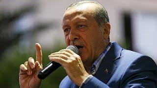 Erdoğan Amerika'ya seslenerek Fethullah Gülen'in iadesini talep etti.