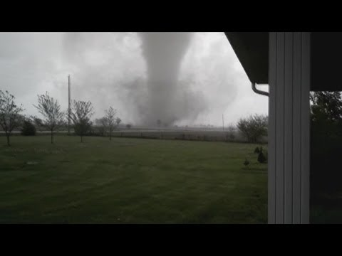 Storms bring possible tornado that destroys buildings in Cedarville, Ohio