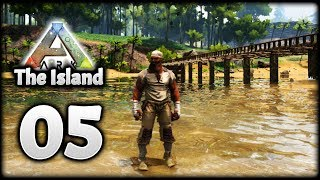 Building My FIRST EVER BRIDGE In ARK! | Let's Play ARK Survival Evolved: The Island | Episode 5