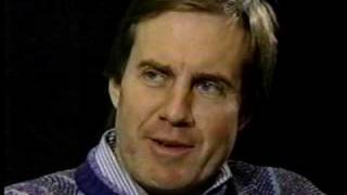Bill Belichick interviewed by Jim Donovan following 1991 season