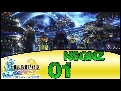Final Fantasy X HD Remaster - Reto NSGNZ | Capitulo 1 # Zanarkand y ruinas