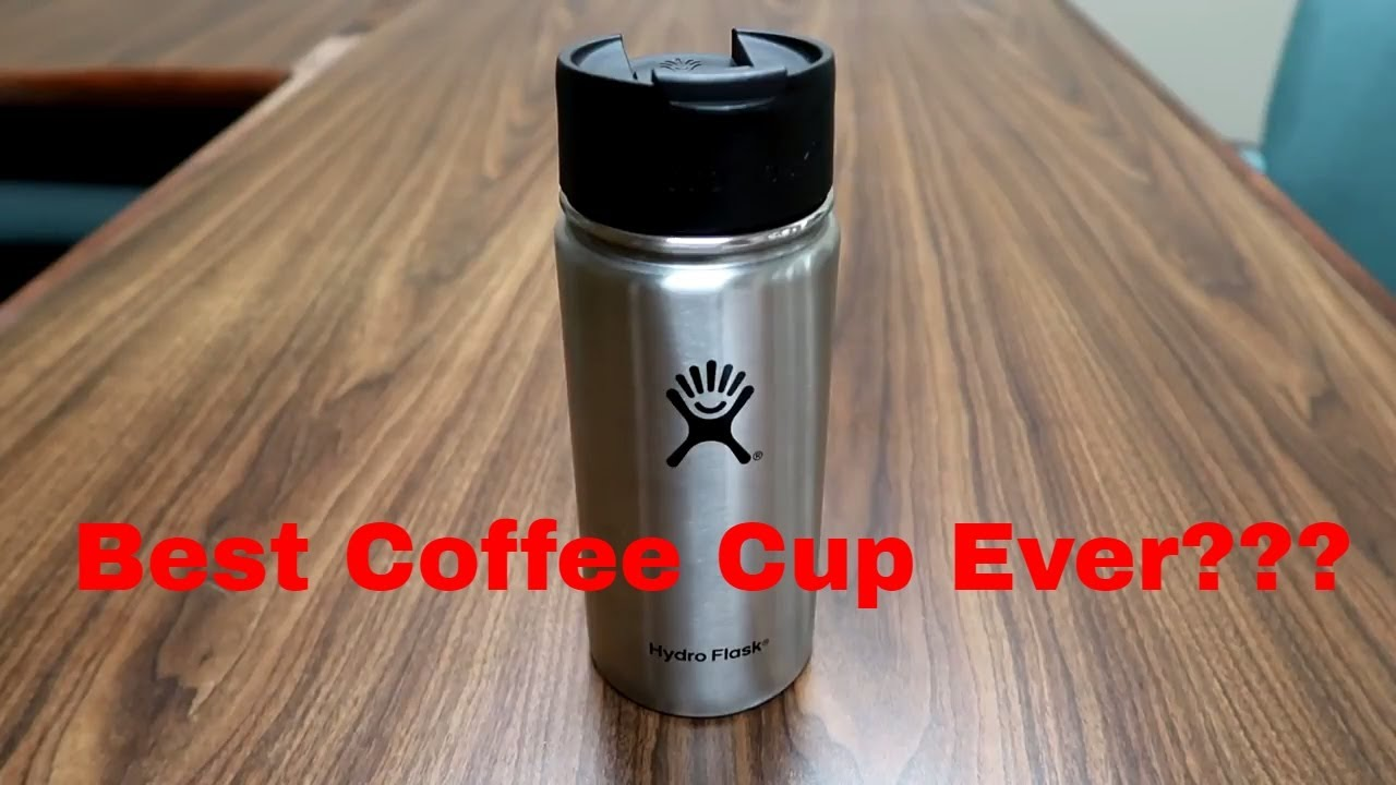 Hydroflask 16oz stainless steel coffee mug review