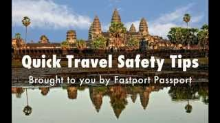 10 Quick Travel Safety Tips