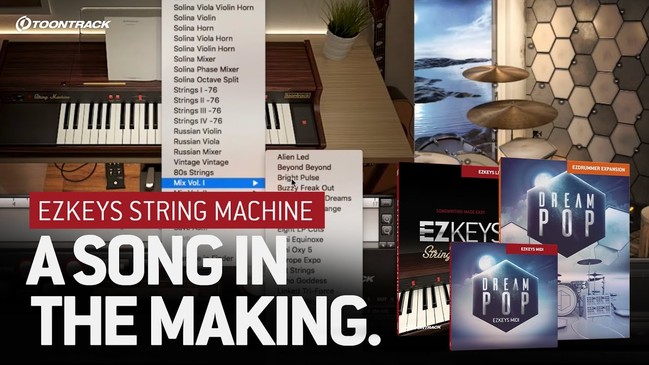 EZkeys String Machine | Toontrack