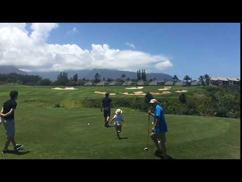 3 WOOD at MAKAI ON THE ISLAND OF KAU'AI