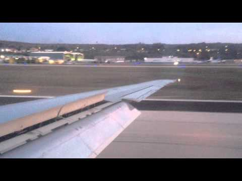 Landing at Curacao Airport - MD 83 DAE (Dutch Antilles Express)