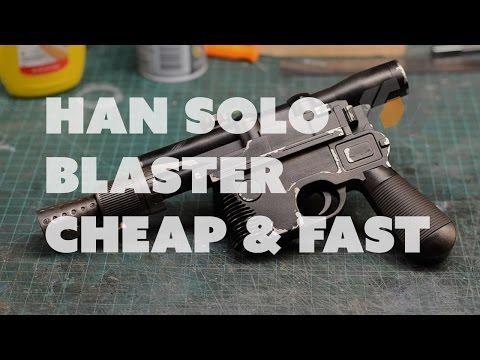 Prop: Shop - Han Solo DL-44 Blaster Prop, Quick & Cheap