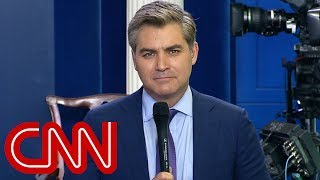 Jim Acosta: Where are the President's apologies?