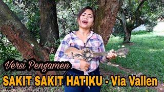 Gambar cover Via Vallen Sakit Sakit Hatiku Cover Ukulele @ Pengamen Jalanan Cewe Jawa Barat