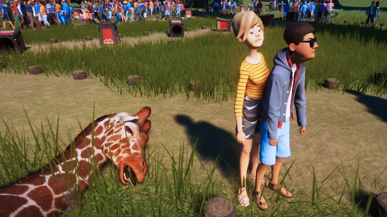 Download I Built an Unethical Zoo Where Nobody Is Safe - Planet Zoo