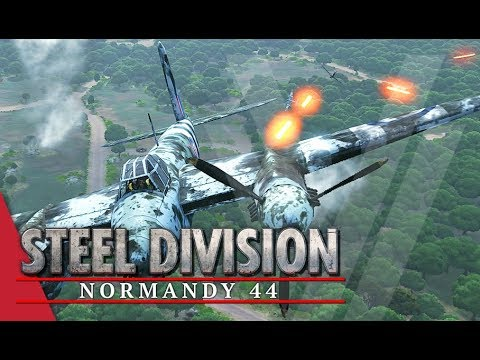Enemy 100 Metres! Steel Division: Normandy 44 Gameplay (Bois