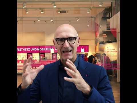 Social Media Post: Tim Höttges Telekom ist weiterhin auf Kurs