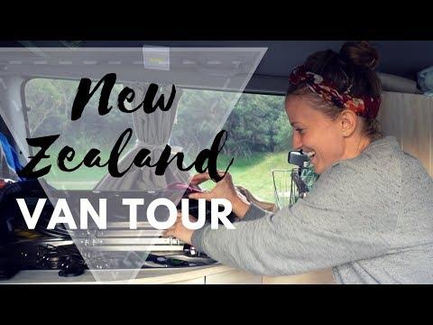 #2 New Zealand: VAN TOUR!!