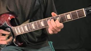 Dream Pop Guitar Lesson - Melodic Arpeggiations