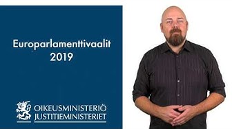 01 Europarlamenttivaalit 2019