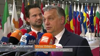 Viktor Orban in Brüssel :