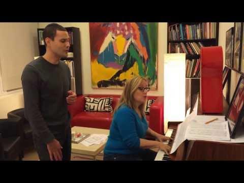 Sim Shalom Rehearsal with Zina & Azi