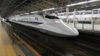 本日早朝浜松へ。700系C54編成廃車回送