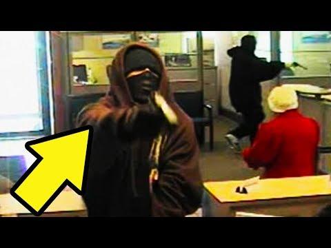 השודד הזה לא הרים ידיים כשהשוטר אמר לו ( כולנו יודעים איך זה נגמר )