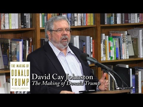 "David Cay Johnston: ""The Making of Donald Trump,"" Daytime TV Psychic Con Artist"
