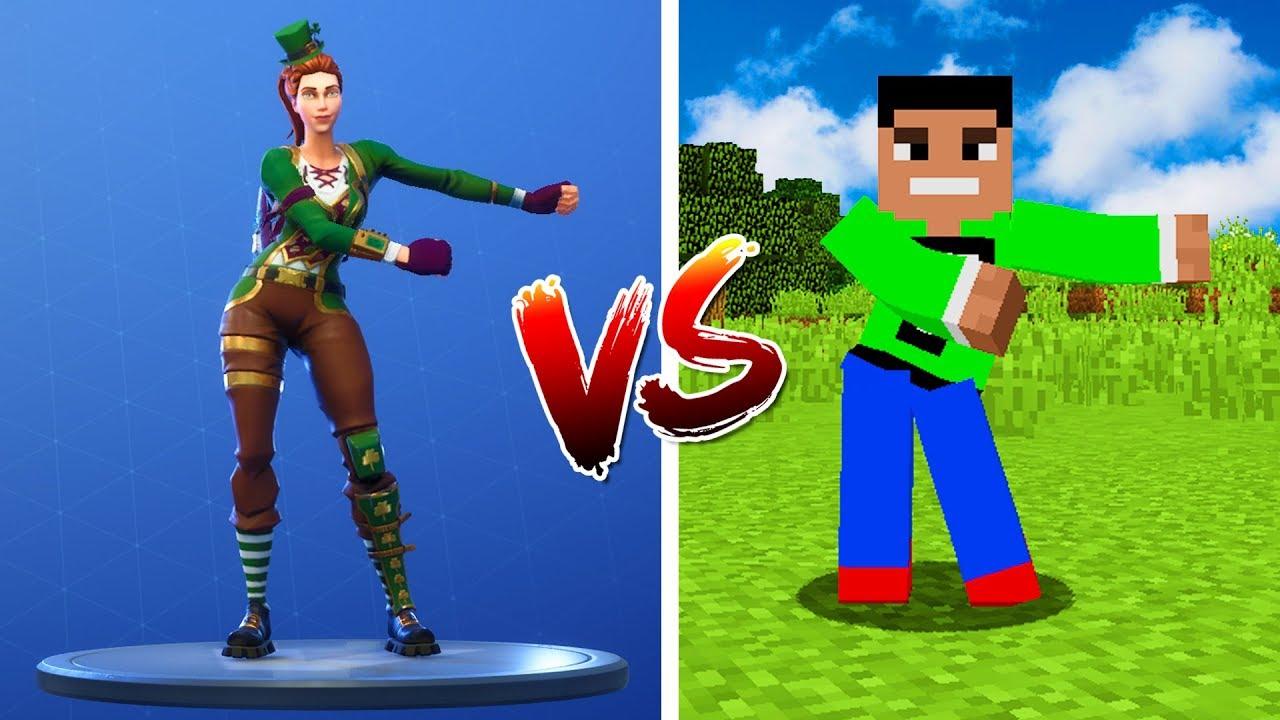 Minecraft NOOB vs. PRO: Fortnite Dances in Minecraft ...